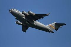 flygplan visar flygexpertis Arkivbild