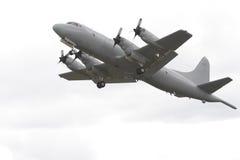 flygplanbevakning Arkivbild