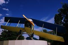 FlygplanBI 3 royaltyfri bild
