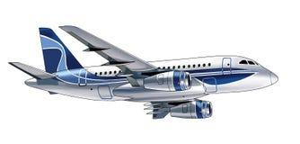 Flygplanbild Arkivbilder