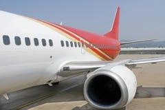 flygplandel royaltyfria bilder
