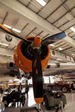 Flygplanet för den Boeing B-17 flygfästningen kallade Fuddyen Duddy Arkivfoto