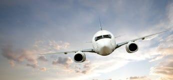 flygplanflyg arkivbilder