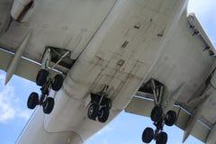 flygplanflypast royaltyfri foto