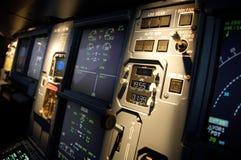 flygplaninstrument Royaltyfria Foton