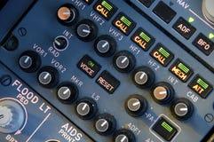 flygplaninstrument Royaltyfri Fotografi