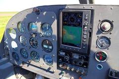 Flygplaninstrument Arkivbilder
