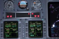 flygplaninstrument Arkivbild