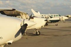 flygplanjustering royaltyfri bild