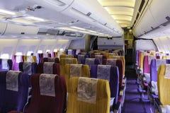 Flygplankabin Royaltyfri Foto