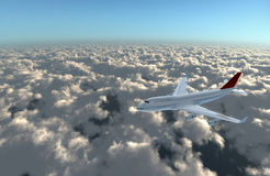 flygplankam framåtriktat till Royaltyfria Foton