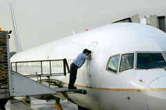 flygplankontroll arkivbilder