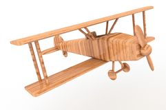 Flygplanleksak Arkivfoto