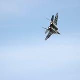 Flygplanmilitär Arkivbild