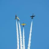 Flygplanmilitär Fotografering för Bildbyråer