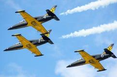 Flygplanmilitär Royaltyfri Bild