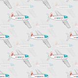 Flygplanmodell Fotografering för Bildbyråer