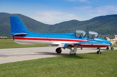 Flygplanmodell Seagull Arkivfoto