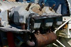 flygplanmotor royaltyfri fotografi