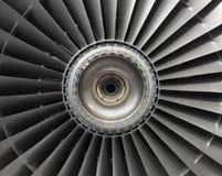 Flygplanmotor Arkivfoton