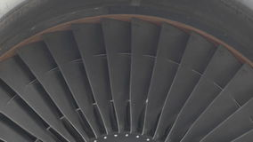Flygplanmotor stock video