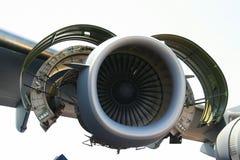 flygplanmotor Arkivfoto
