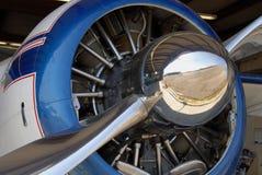 flygplanmotorradial arkivfoton