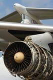flygplanmotorstråle Arkivfoto