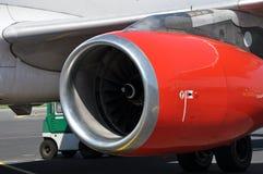 flygplanmotorturbin Royaltyfri Foto
