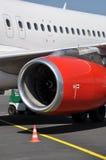 flygplanmotorturbin Royaltyfria Foton