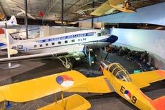 Flygplanmuseum Royaltyfria Foton