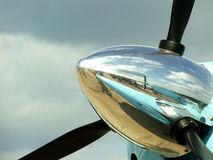 flygplanpropeller Arkivfoto