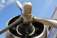 flygplanpropeller Royaltyfri Bild