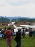 Flygplanskrasch royaltyfria foton