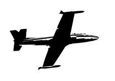 Flygplanskugga Fotografering för Bildbyråer
