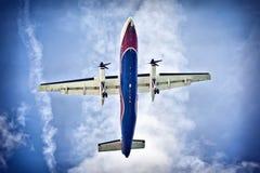 flygplansky Arkivbilder