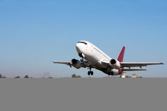 flygplanstart Royaltyfria Bilder