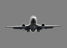 flygplanstrålwhite Royaltyfri Fotografi