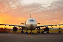 Flygplansunderhåll Arkivbilder