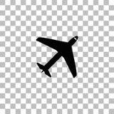 Flygplansymbolsl?genhet stock illustrationer