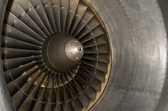 flygplanturbin fotografering för bildbyråer