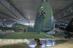 Flygplantyp, heinkel honom 111 Fotografering för Bildbyråer