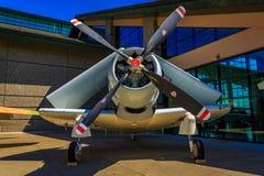 Flygplanutställning Arkivbild