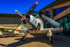 Flygplanutställning Arkivfoto