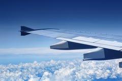 flygplanvinge Fotografering för Bildbyråer