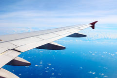 Flygplanvinge Royaltyfria Foton