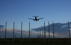 flygplats Arkivfoto