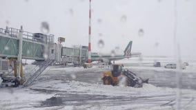 Flygplats stock video