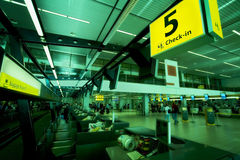 flygplats Royaltyfri Fotografi