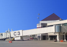 flygplats allt portväder Arkivbilder